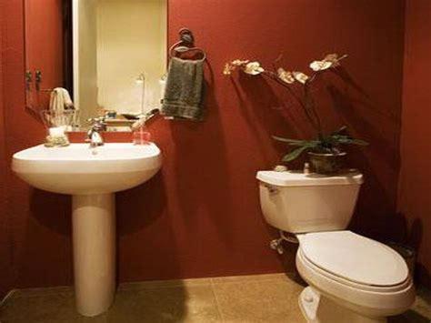 Small Bathroom Paint Colors Photos by Got A Small Bathroom Try Adding Some Color To It And You