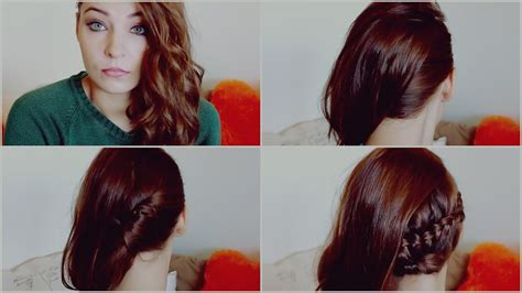 hair peinados faciles de lado  fiesta nochevieja