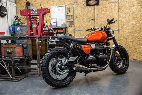 shed style out scrambler the bike shed
