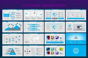 Animated Business Powerpoint Template  66991