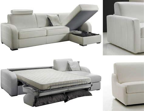 canapé lit d 39 angle réversible 5 places lit 140 cm