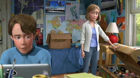 """The True Identity Of Andys Mom In """"toy Story"""" Will Blow"""