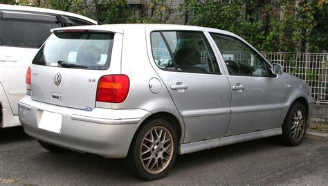 volkswagen polo 1999 file 1999 2001 volkswagen polo gti rear jpg wikimedia