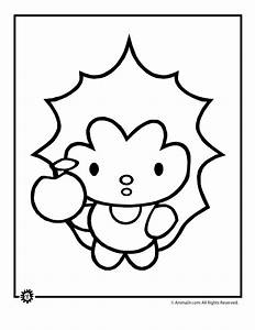 Cute Animals Coloring Pages - Coloring Home
