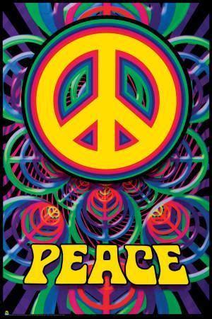 peace sign print  allposterscom