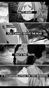 Edward Elric | ... Fma Death Quotes