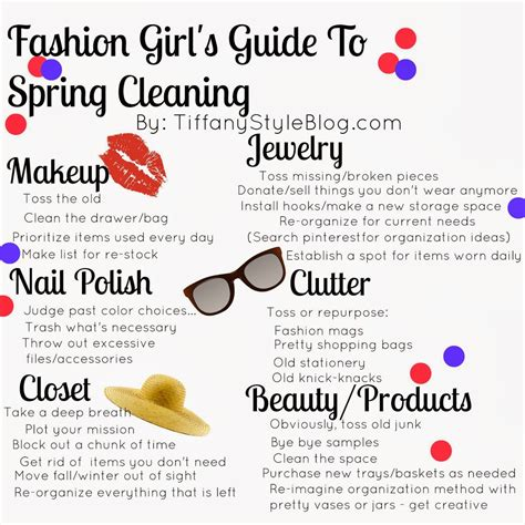 Fashion Girl's Guide To Spring Cleaning  Tiffany Davis Olson