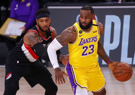 Los Angeles Lakers defeat Portland 131-122; advance to the ...