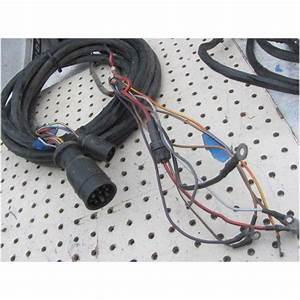 Mercury Outboard 8 Pin Engine Remote Wire Harness 12 Pin To Dash With Acc Trim On Ebid United