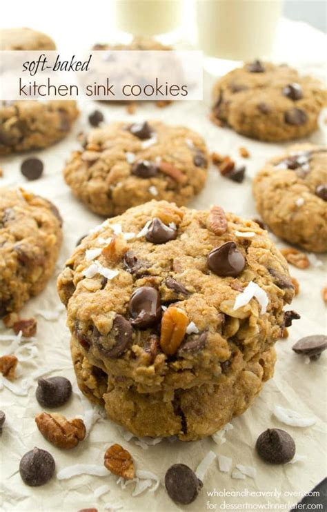 recipe for kitchen sink cookies soft baked kitchen sink cookies 7650
