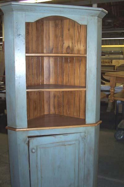 reclaimed wood corner cabinet lake  mountain home