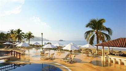 Krystal Ixtapa Beach Pool Wallpapers Hotel Hotels