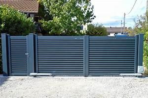 Portail En Aluminium : quel portail en aluminium choisir pour sa maison webzine ~ Melissatoandfro.com Idées de Décoration