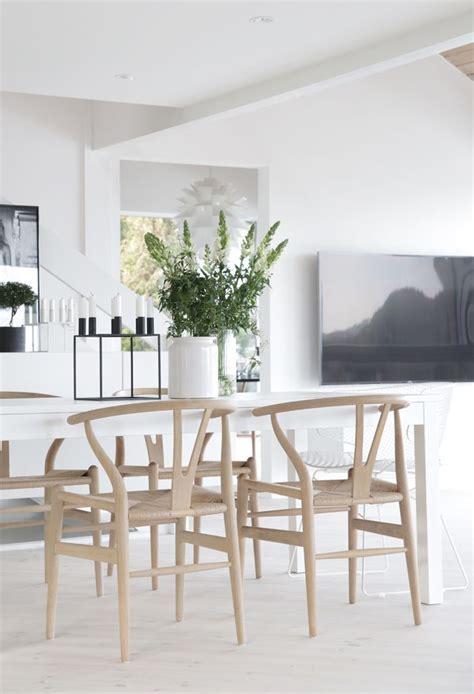 chairs minimalist dining room decor scandinavian
