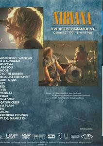 Nirvana: Live At The Paramount (DVD 1991) | DVD Empire