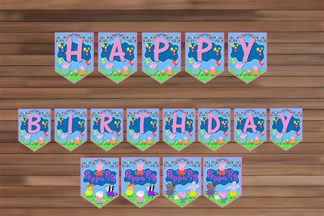peppa pig birthday party decoration peppa