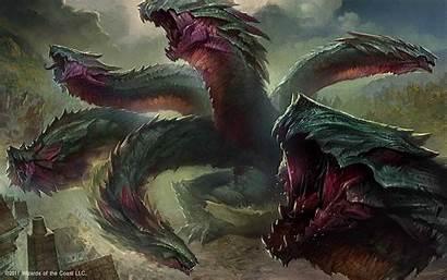 Dragon Magic Gathering Hydra Mitologia Omnivore Headed
