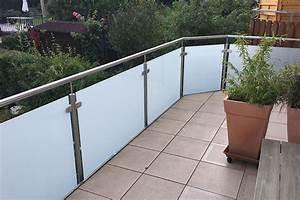 Milchglas Für Balkon : balkon gel nder baumg rtner und schulz metallbau ~ Markanthonyermac.com Haus und Dekorationen