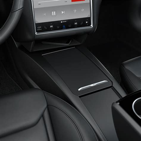 model  integrated center console