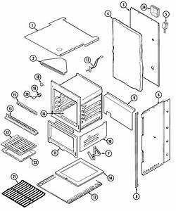 Maytag Model Cwg3100aae Wall Oven  Gas Genuine Parts