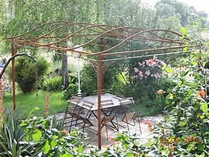 tonnelle fer forge tonnelle fer forg melody tonnelle With charming gloriette de jardin en fer forge 2 tonnelle en fer forge inopiu