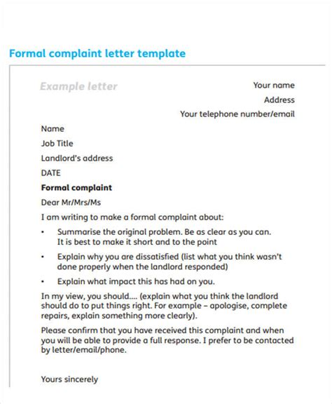 formal letter examples  word  premium