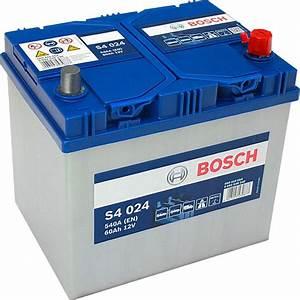 Bosch S4 12v 60ah : s4 024 bosch car battery 12v 60ah type 005l s4024 car ~ Jslefanu.com Haus und Dekorationen
