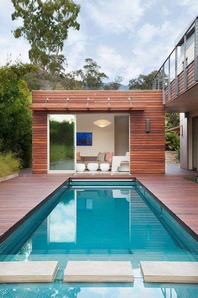 25 best ideas about modern pool house on modern pools contemporary pool and spa