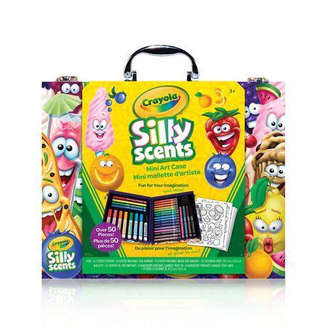 Crayola Silly Scents Mini Inspiration Art Case Walmart
