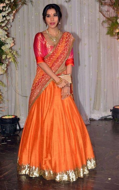 How To Drape A Lehenga - easy breezy lehenga style saree draping saree guide