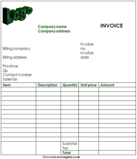 Free Invoice Template Pdf Free Invoices Templates Pdf Downloads Invoice Template