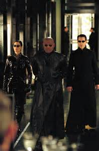Matrix Reloaded Neo and Trinity