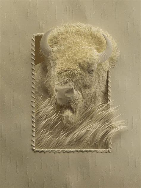 cut paper art  calvin nicholls booooooom create