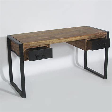 bureau metal bois bureau bois metal mzaol com