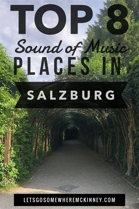 With the sound of music. Top 8 Sound Of Music Filming Locations Around Salzburg