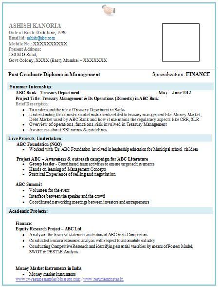 resume for event management fresher talktomartyb