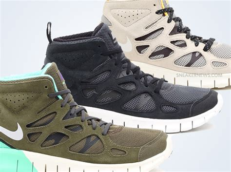 free running 2 nike free run 2 mid upcoming releases sneakernews
