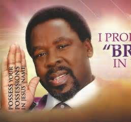 TB Joshua Anointing Sticker