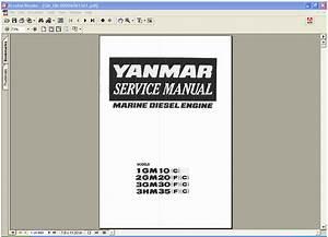 Yanmar Marine Diesel Engine 1gm10 C   2gm20 F  C   3gm30 F  C   3hm35 F  C