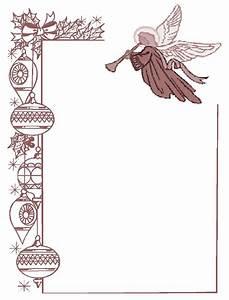 Angel Borders Frames And Backgrounds | Betlehem/Nativity ...
