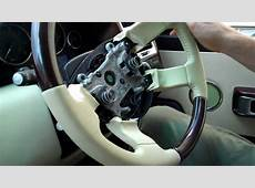 How To Change Steering wheel on Range Rover L322