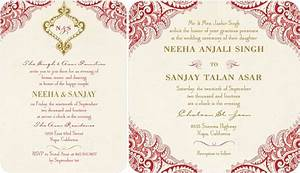 top collection of indian wedding invitation theruntimecom With cost of wedding invitations indian