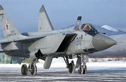 Russian Mig Foxhound Deploy Alaska Fleet Pacific