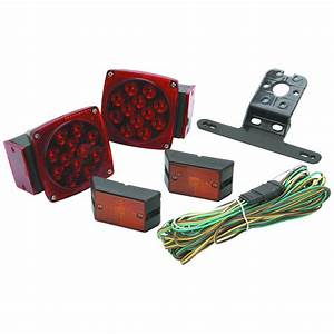 Haul-master 95974 Led Trailer Light Kit
