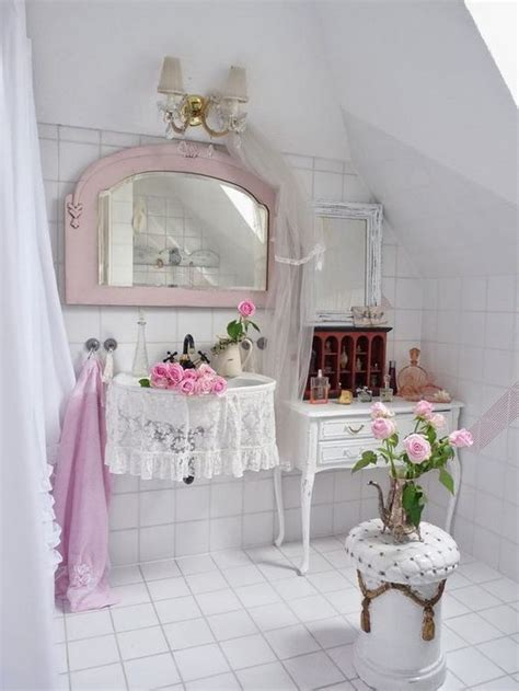 Shabby Chic Badezimmer Accessoires by 60 Awesome Shabby Chic Bathroom Ideas 2018