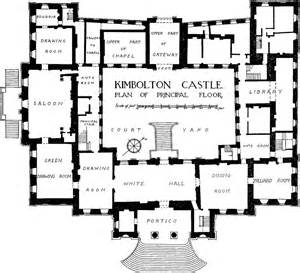 mansion floor plans castle kimbolton history