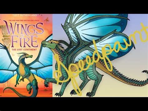 Vire Academy Books Wings Of Fire Silkwing Speedpaint Youtube