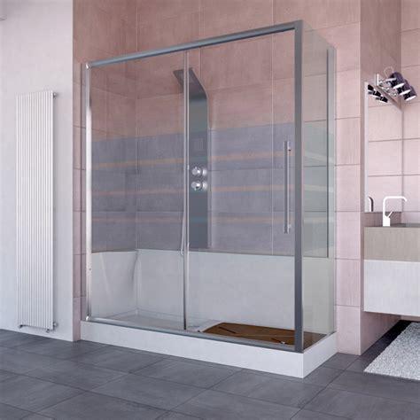 vasca cabina doccia kit cabina e piatto doccia 170x70 per sostituzione vasca