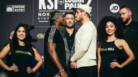 logan paul  ksi  weigh  results  full fight card
