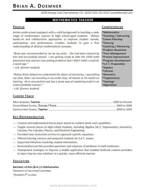 Great Resumes by Confusedsky Great Resumes Exles 2013